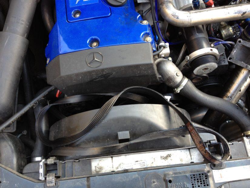 Mercedes-Benz C180 Kompressor Unikat (W202) – Totalschaden des Kompressors und die damit verbundene Fahrzeugaufgabe