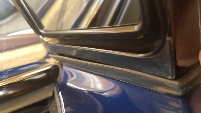 Wartungen, Verbesserungen S211 W211 – Quietschen der Vormopf Aussenspiegel beim Anklappen