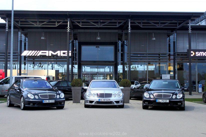 W211 – 2015-10 – Kleiner 211er Treff beim AMG Performance Center Ulm