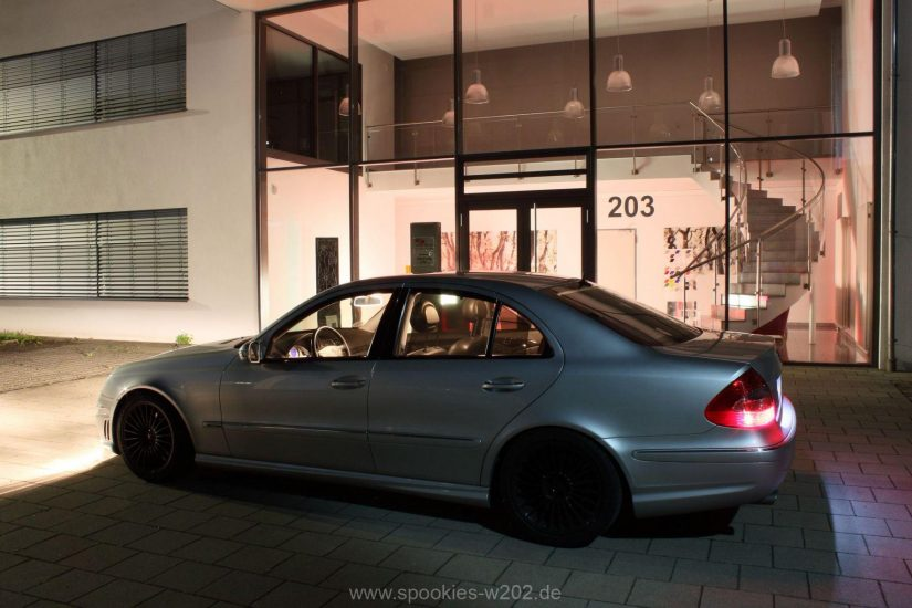 W211 – 2014-08 – Nachtshooting in Kirchheim/Teck