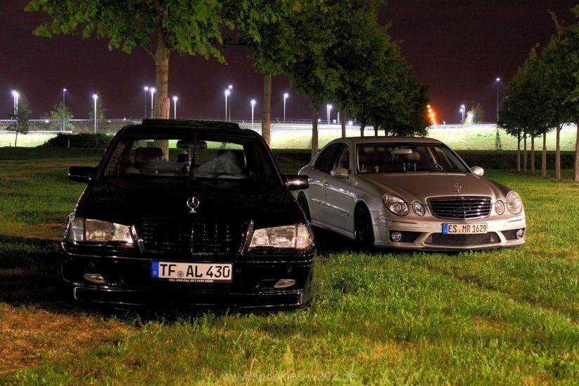 W211 – 2016-08 – Gemeinsames Shooting mit Andreas am BER