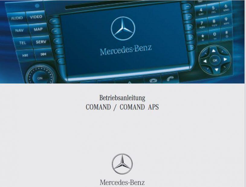 Multimedia, HiFi S211 W211 – Comand NTG1 Bedienungsanleitung