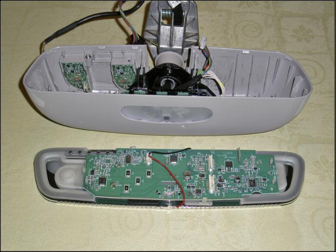 Wartungen, Verbesserungen S211 W211 – Ambiente LED heller im Innenspiegel heller machen