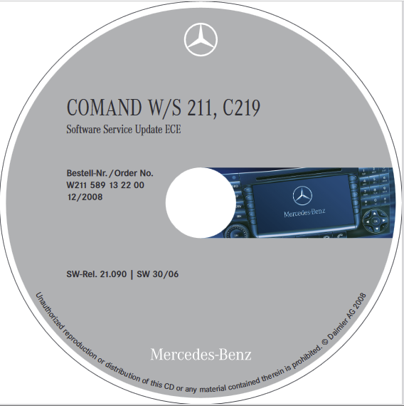 Multimedia, HiFi S211 W211 – Comand NTG1 Firmware Download