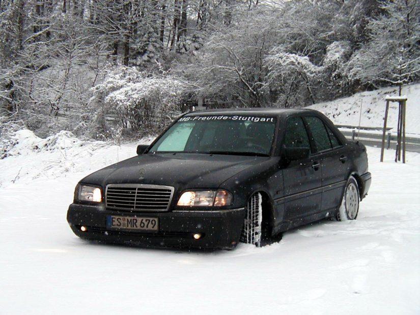 W202 – 2003-01 – Es ist wiedermal Winter und der Wagen hatte schon einige Veränderungen