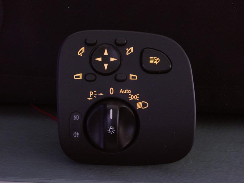 Reparatur S203 W203 CL203 – Beleuchtung des Lichtschalters am Mopf
