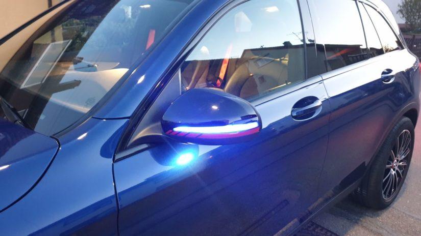 Mercedes-Benz GLC250 (X253) – Modifikationen – Exterieur – Dynamische Blinker mit Willkommenslicht Funktion