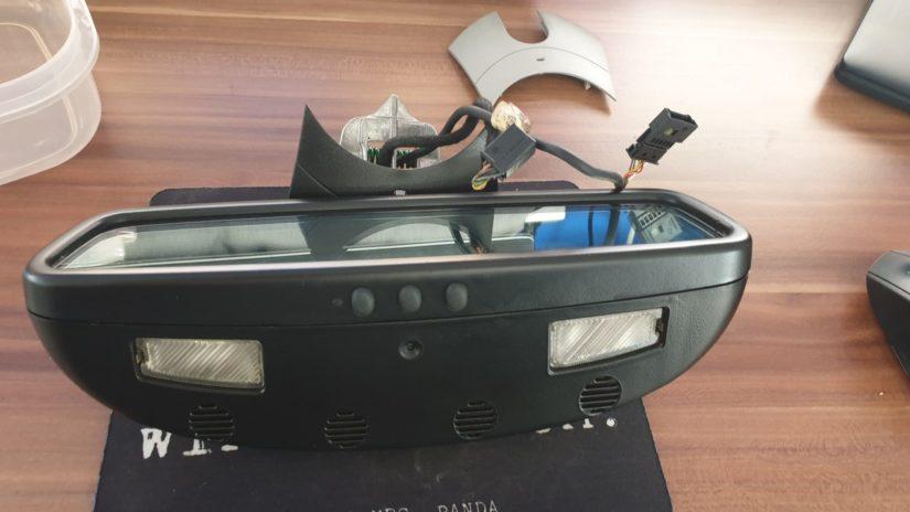 S211 W211, Wartungen, Verbesserungen – Zerlegen, Umbauen, Reparieren oder Modifizieren des Innenraumspiegels – Vormopf und Mopf